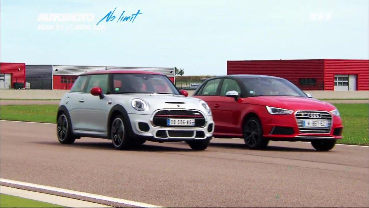 No Limit Audi S1 Vs Mini Jcw Duel De Petites Sportives Automoto