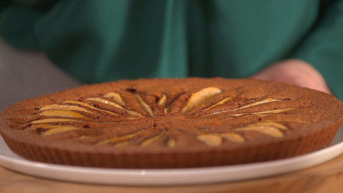 Recette Gâteau poires-chocolat sans gluten de Clem' sans ...