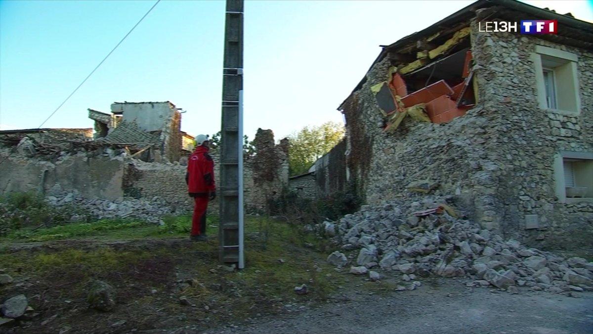 Le désarroi des habitants du Teil au lendemain du séisme - TF1