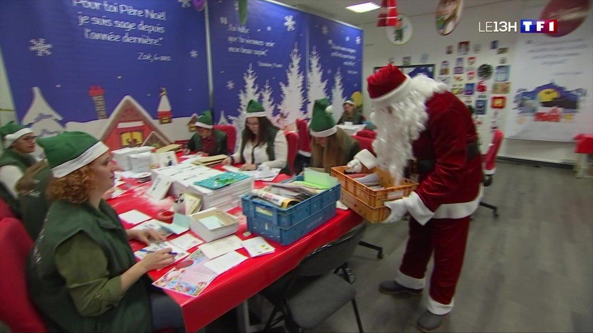 Le secrétariat du père Noël ouvre ses portes à Libourne - TF1