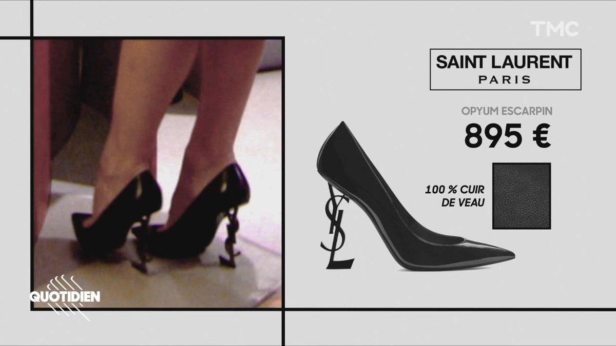 358c9ac1cb9c65 Flash Mode : Pamela Anderson et ses escarpins pas très vegan - Quotidien  avec Yann Barthès | TMC