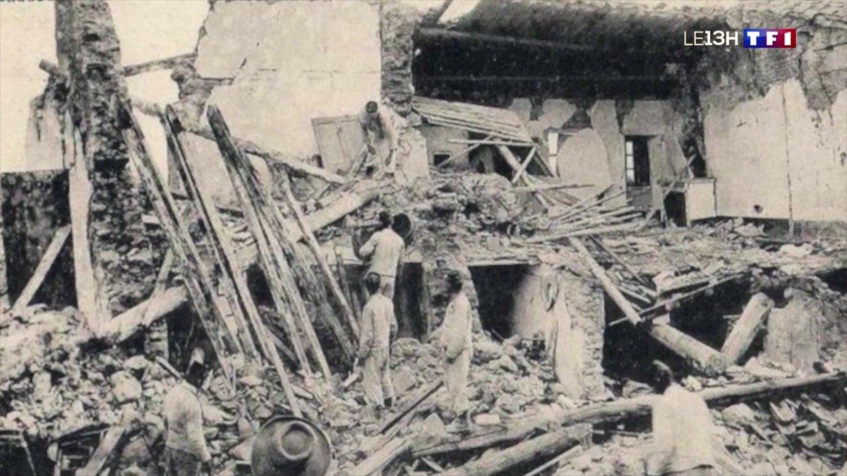 Retour sur le séisme du 11 juin 1909 à Lambesc - TF1