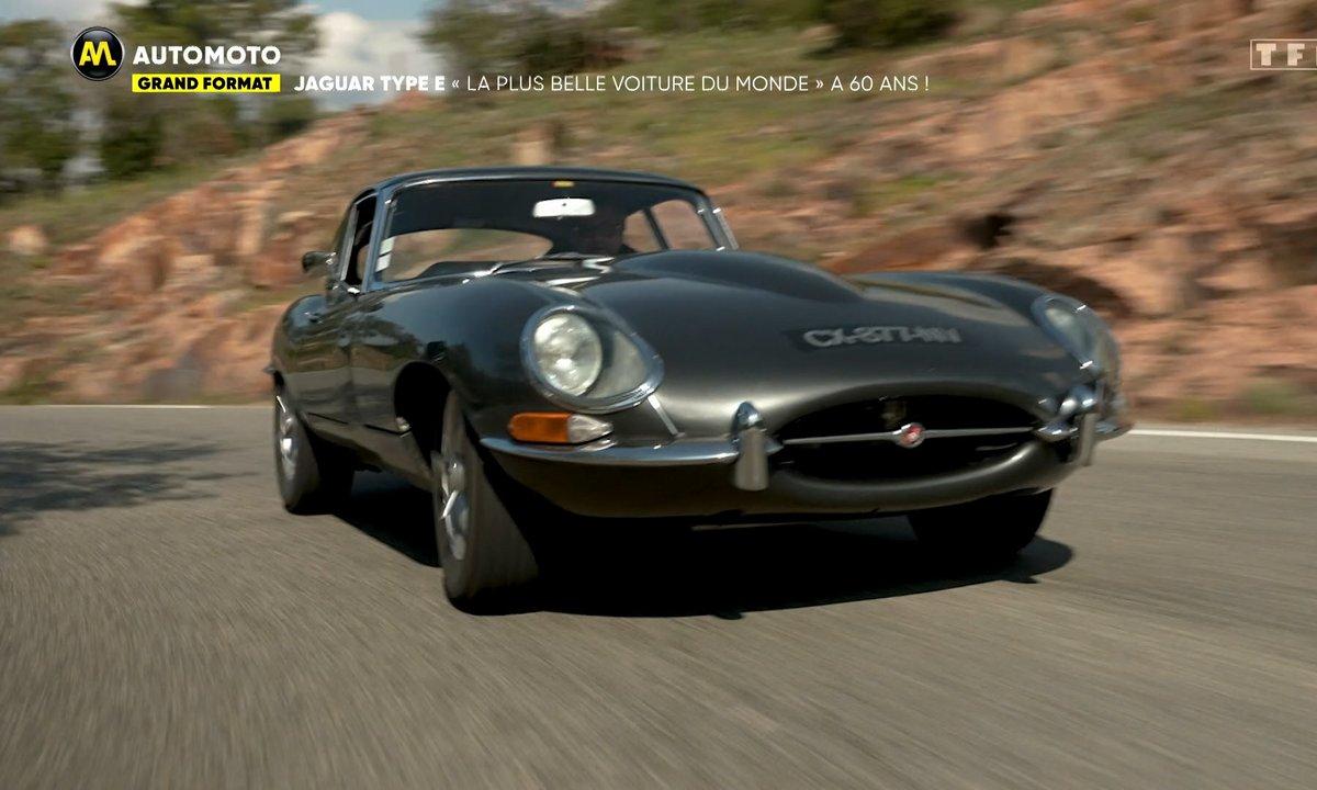 """Grand Format - Jaguar Type E : """"La plus belle voiture du monde"""" a 60 ans !"""