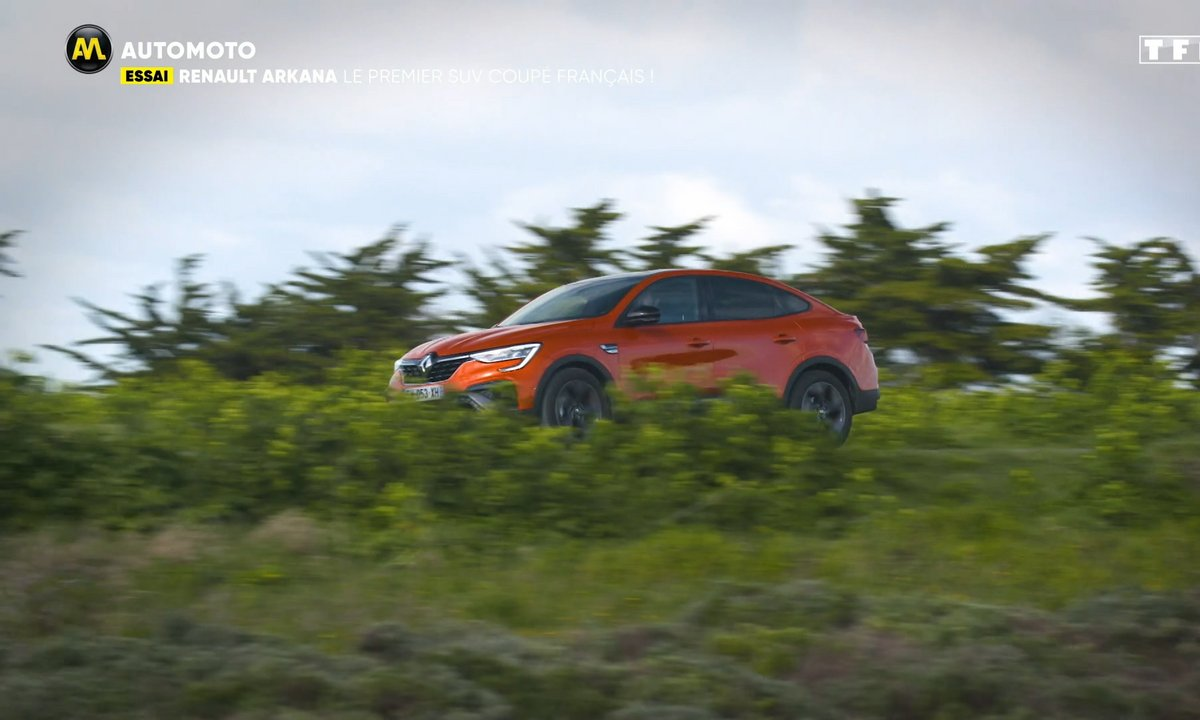 Essai - Renault Arkana : le premier SUV Coupé français !