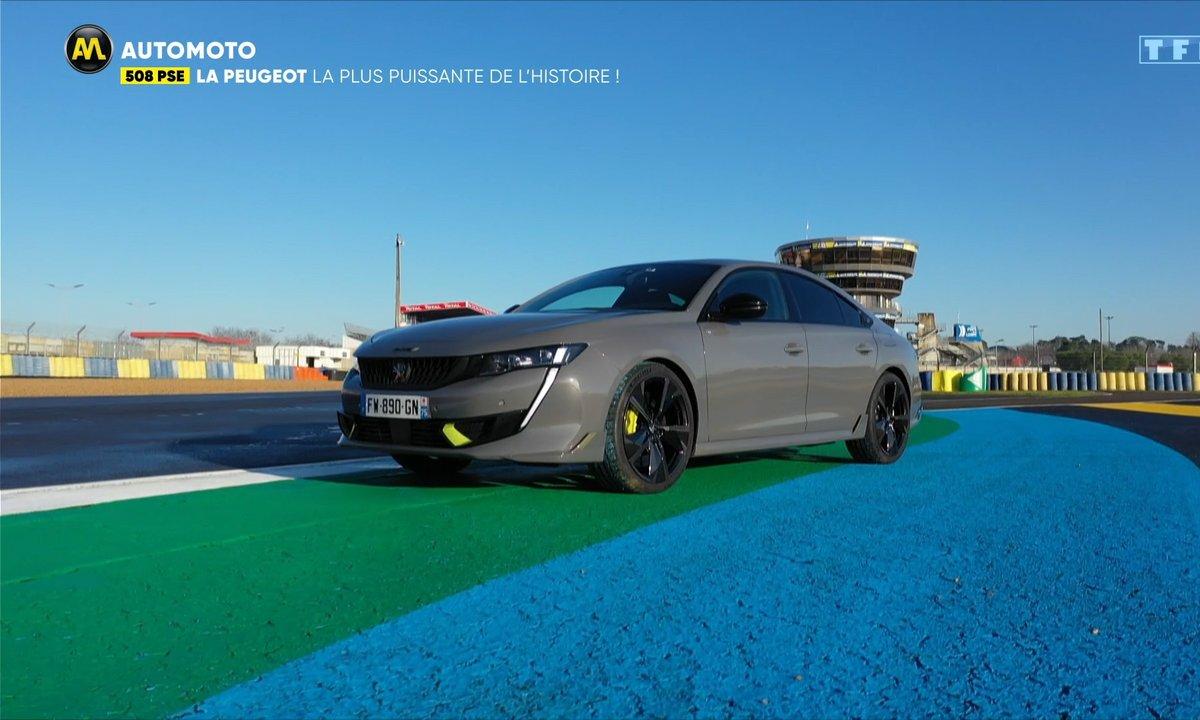 508 PSE, la Peugeot la plus puissante de l'histoire !