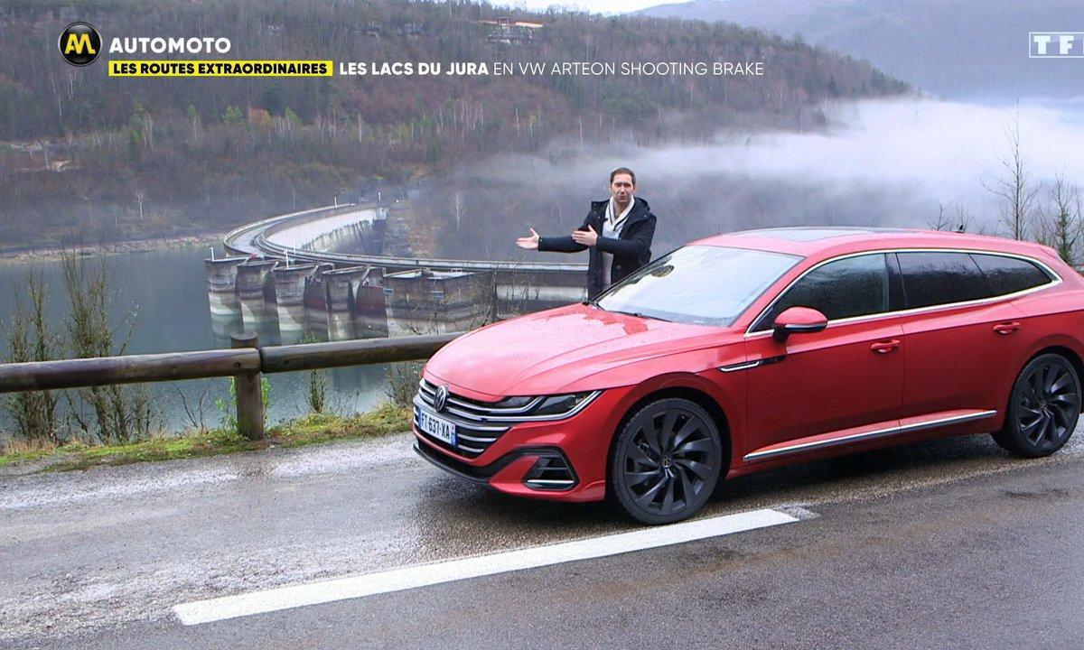 Les Routes Extraordinaires : les lacs du Jura en VW Arteon Shooting Brake