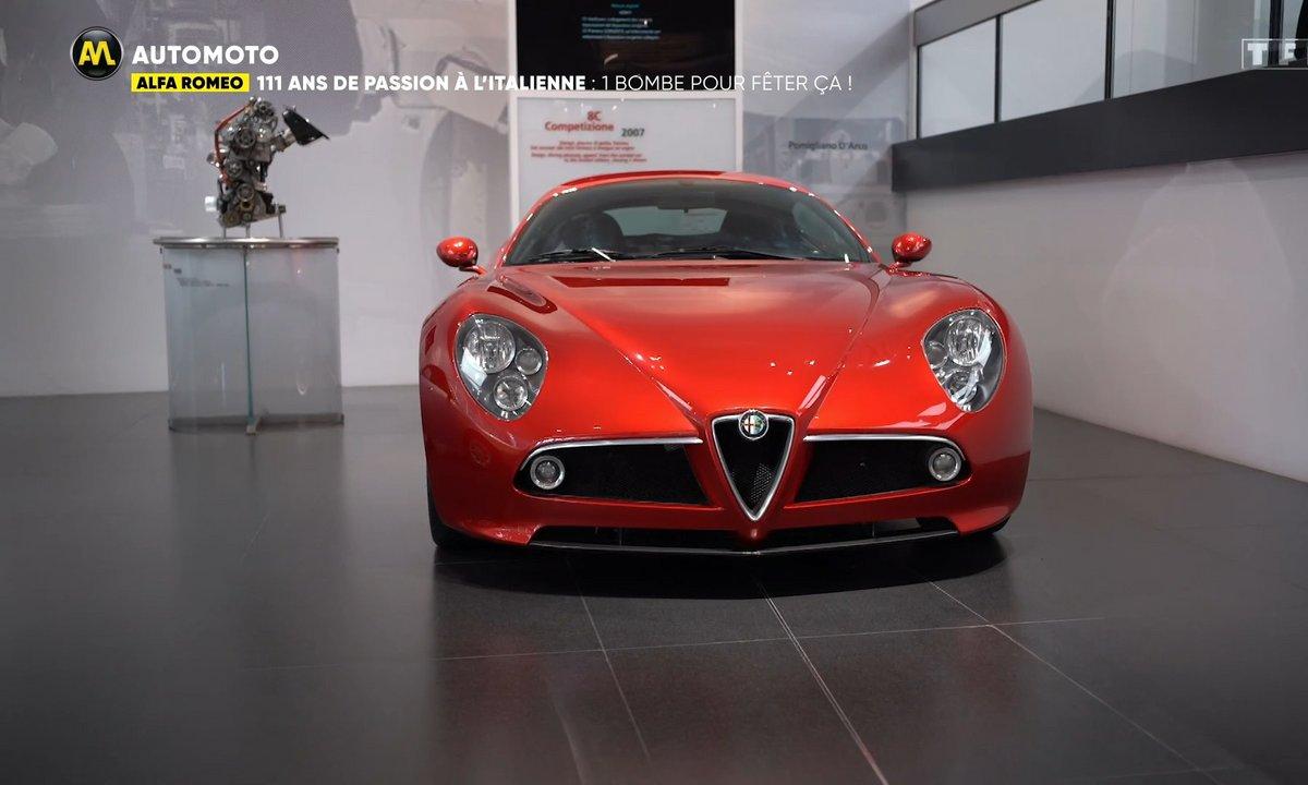 Alfa Romeo - 111 ans de passion à l'italienne, une bombe pour fêter ça !