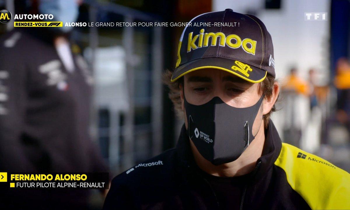 RDV F1 - Alonso, le grand retour pour faire gagner Alpine-Renault