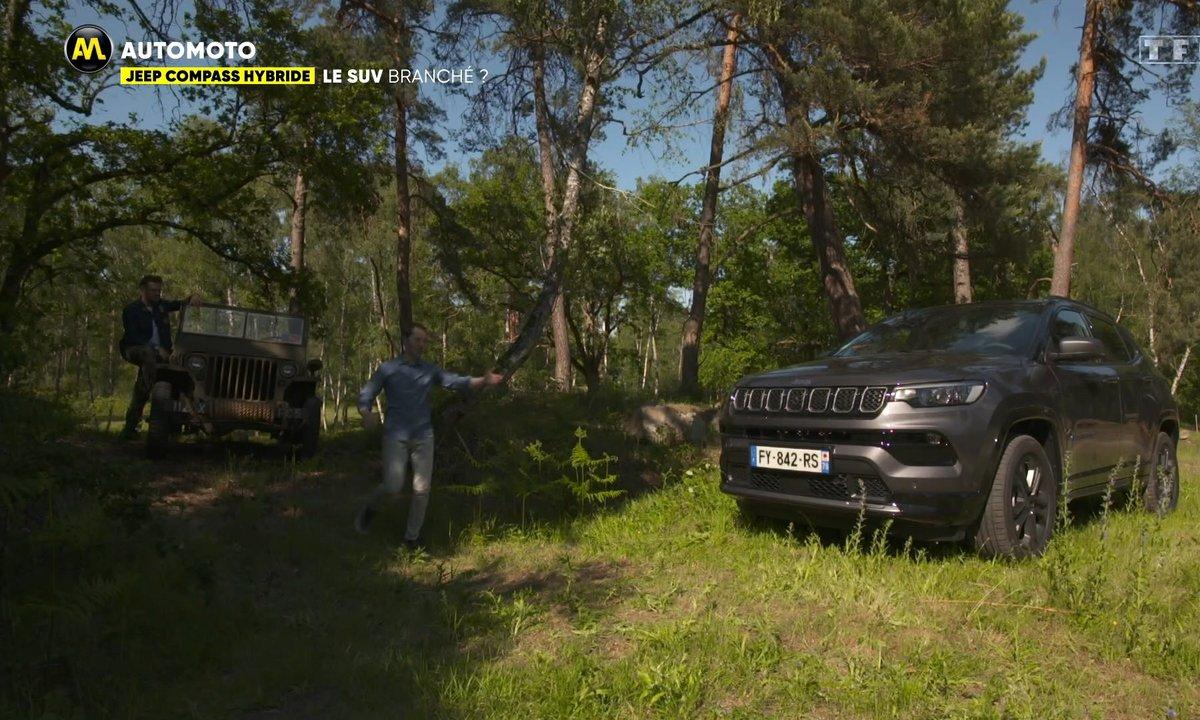 Jeep Compass Hybride, le SUV Branché
