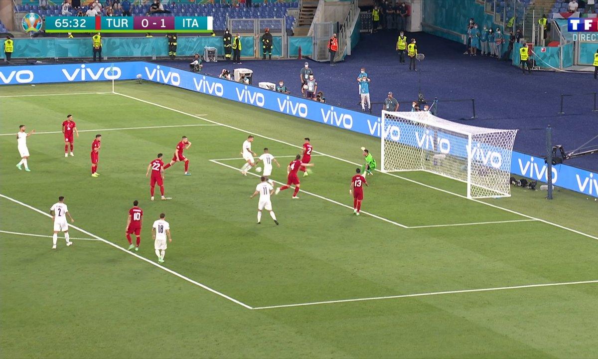 Turquie - Italie (0 - 2) : Voir le but d'Immobile en vidéo