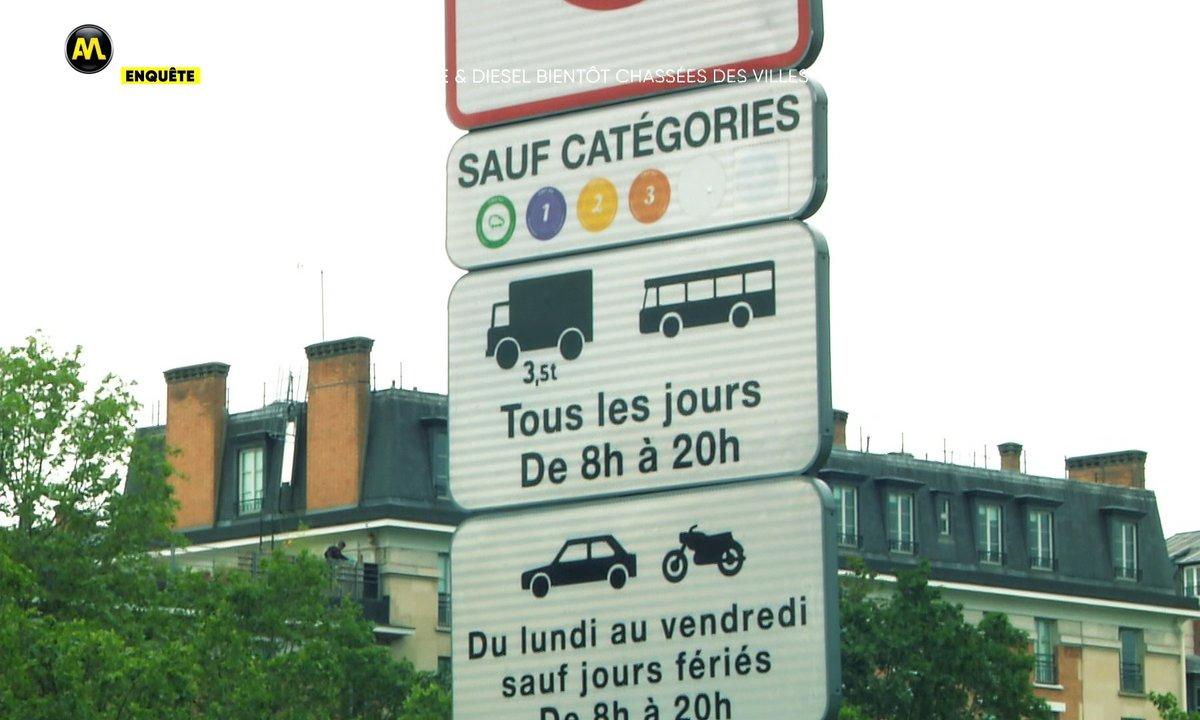 Enquête - ZFE, les voitures essence & diesel bientôt chassées des villes ?