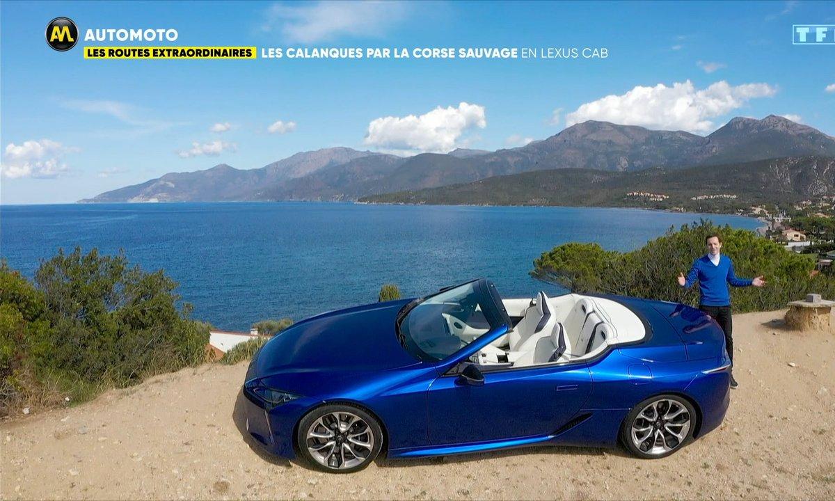 Les Routes Extraordinaires - Les calanques par la Corse sauvage en Lexus Cab