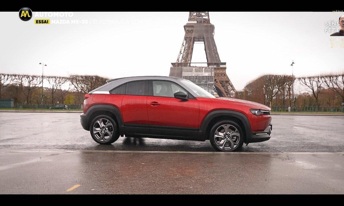 Essai - Mazda MX-30, l'électrique à contre-courant !