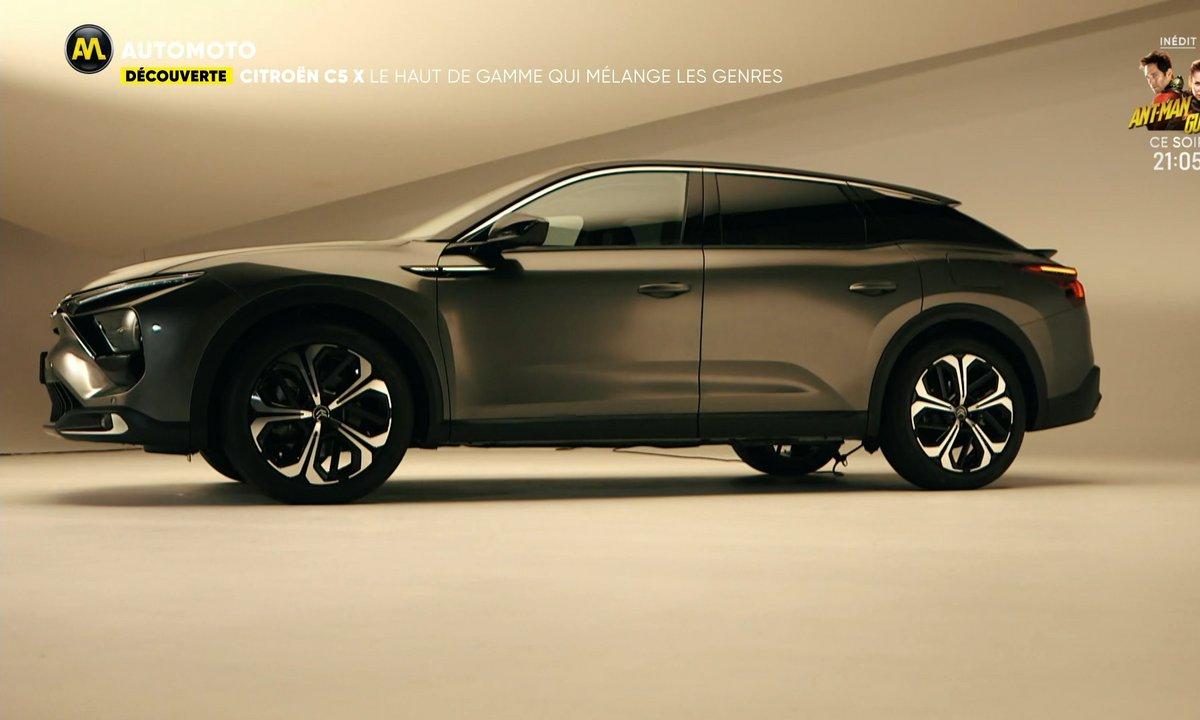 Découverte - Citroën C5X, le haut de gamme qui mélange les genres