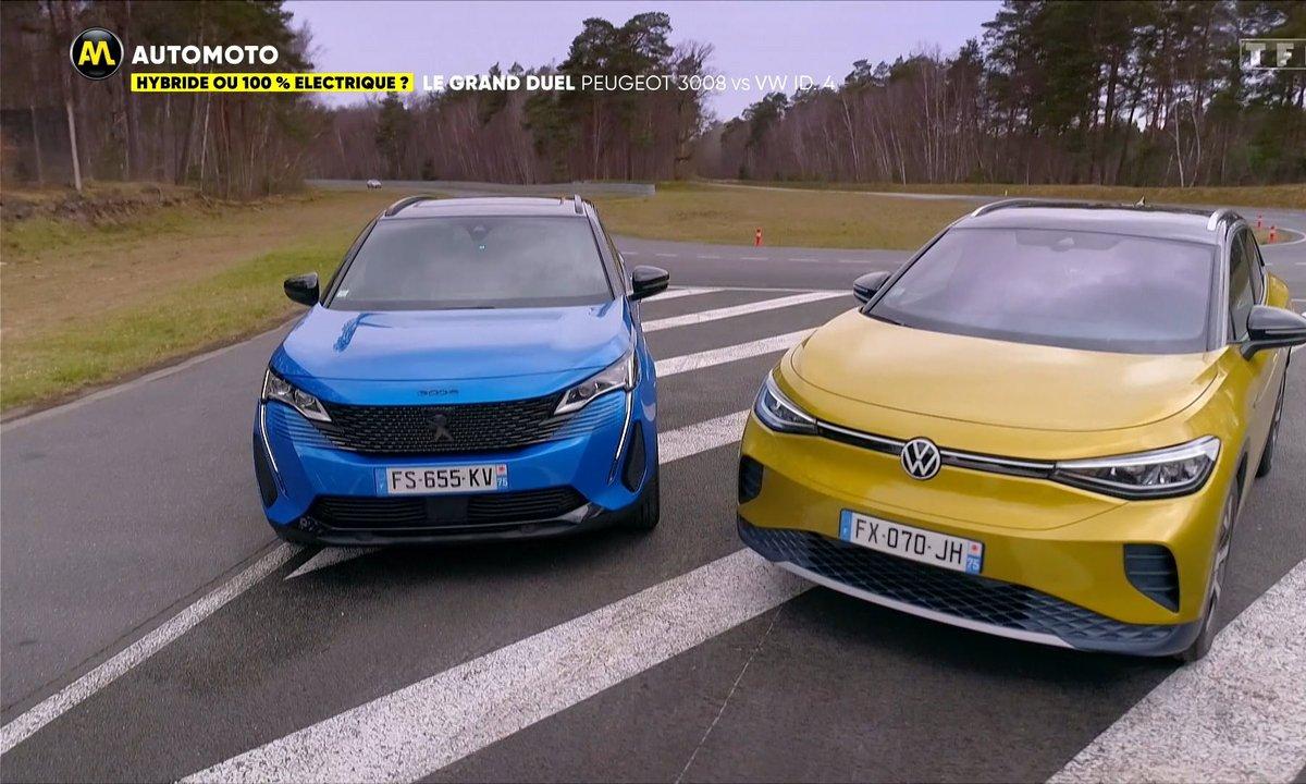 Hybride ou 100% électrique, le Grand Duel : Peugeot 3008 VS VW ID.4