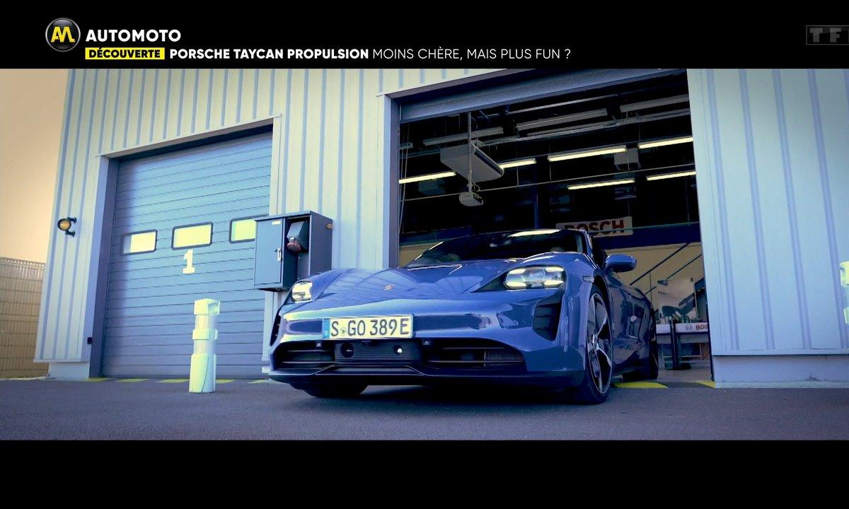 Découverte - Porsche Taycan Propulsion, moins chère mais plus fun ?