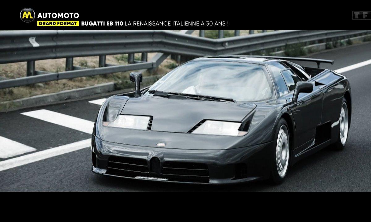 Grand Format - Bugatti EB110, la renaissance italienne a 30 ans !