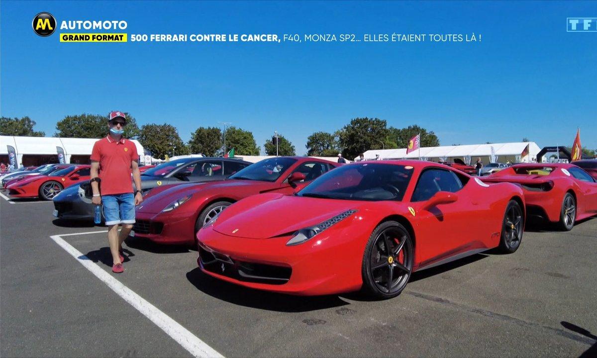Grand Format - 500 Ferrari contre le cancer, F40, Monza, SP2 : elle étaient toutes là !