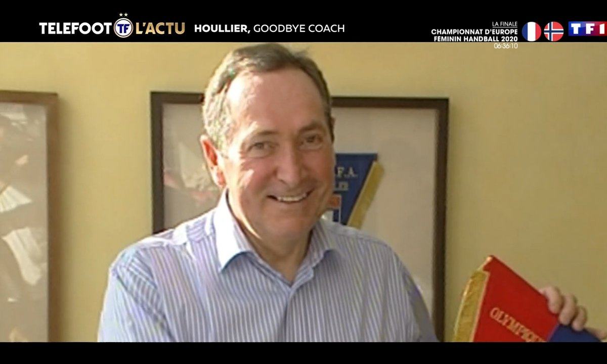 Houllier, Goodbye coach