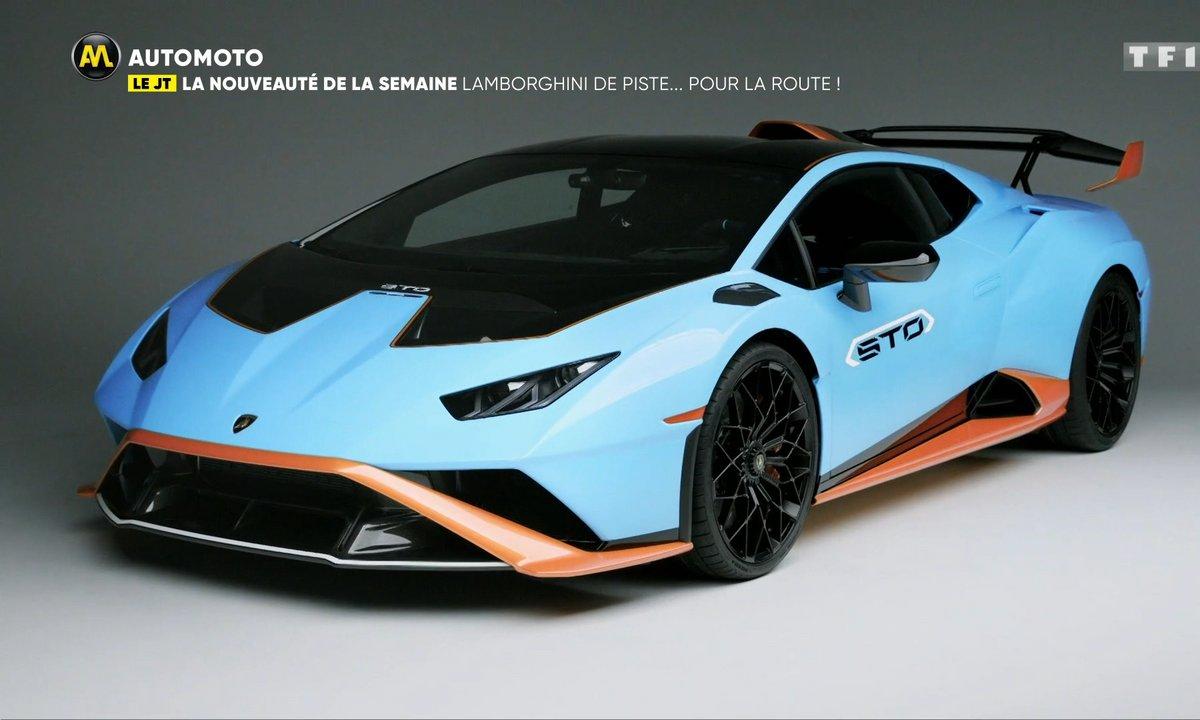 VIDEO - Une Lamborghini de piste... pour la route !