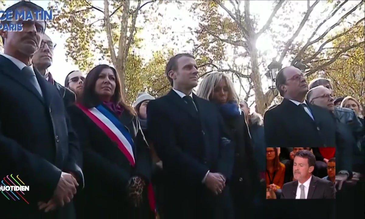 13 novembre : Manuel Valls se souvient avec émotion
