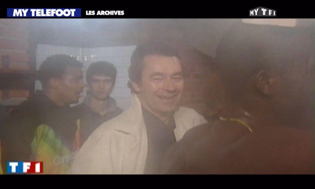 Les archives de Téléfoot : la victoire du PSG face au Real Madrid en 1993 !