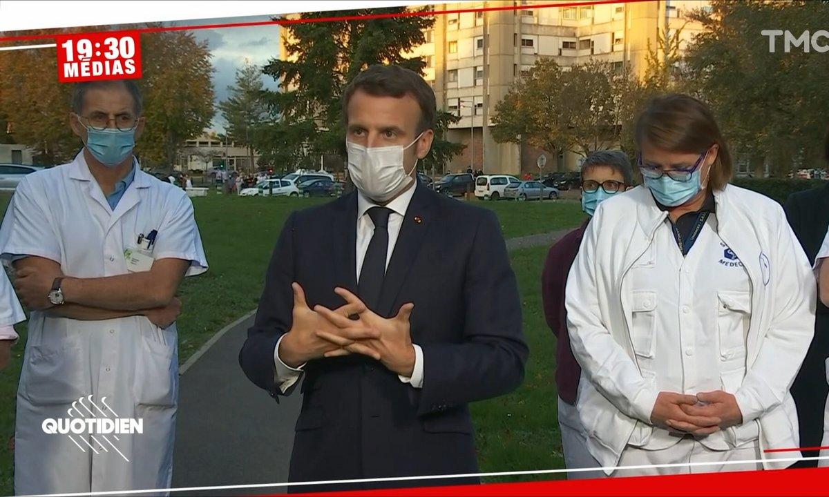 19h30 Médias – Baisse des cas de Covid en France: Macron a-t-il réussi son pari ?