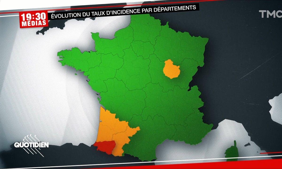 19h30 Médias - Covid : inquiétude en Nouvelle-Aquitaine face à la hausse des contaminations