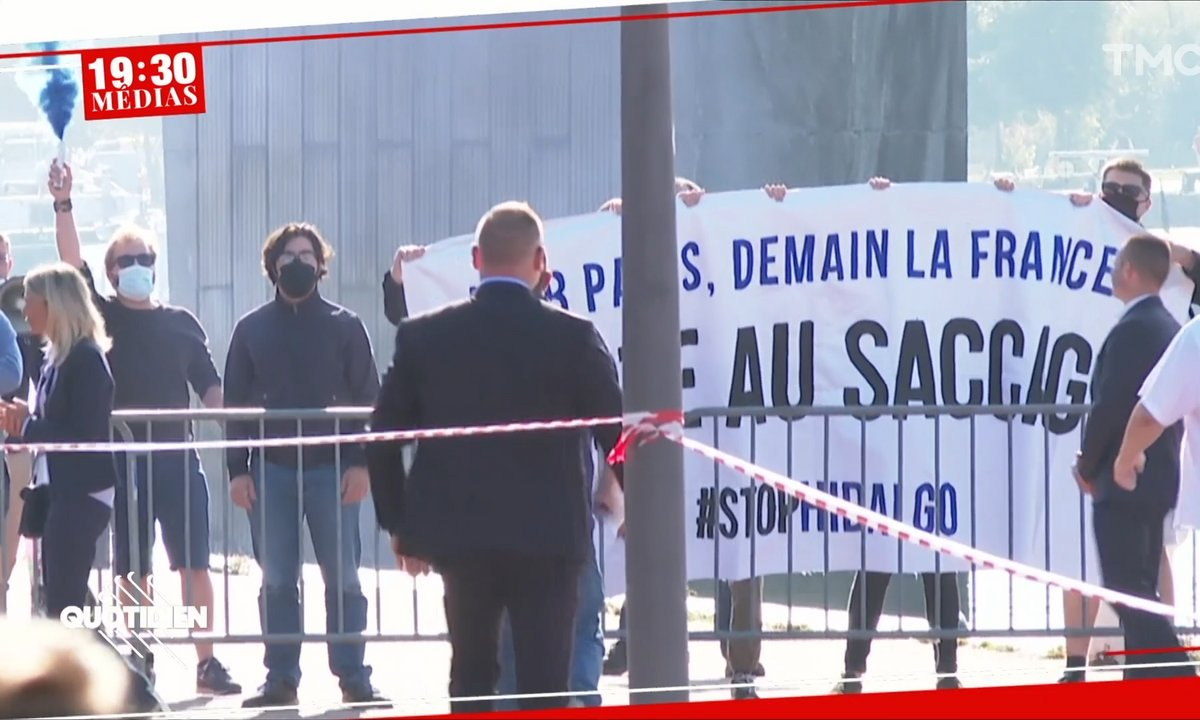 19h30 Médias : des militants d'extrême droite perturbent le discours d'Anne Hidalgo à Rouen