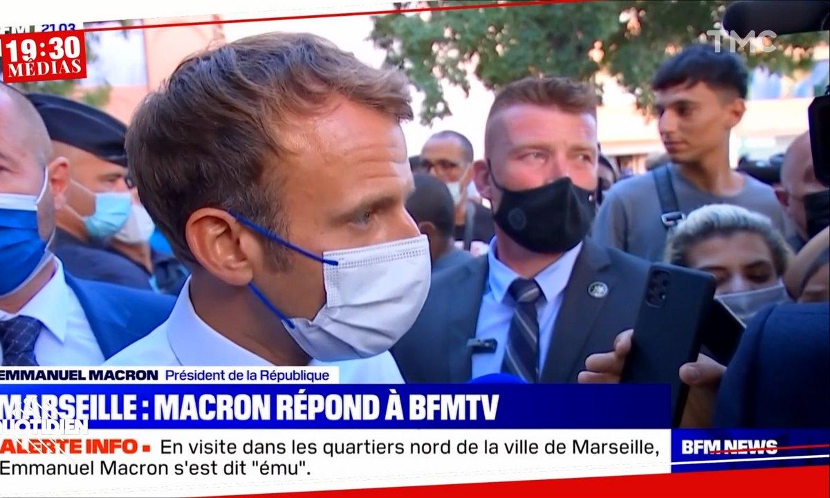 19h30 Médias : Emmanuel Macron, comme un air de campagne