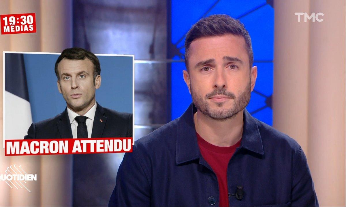 19h30 Médias : Emmanuel Macron joue avec nos nerfs