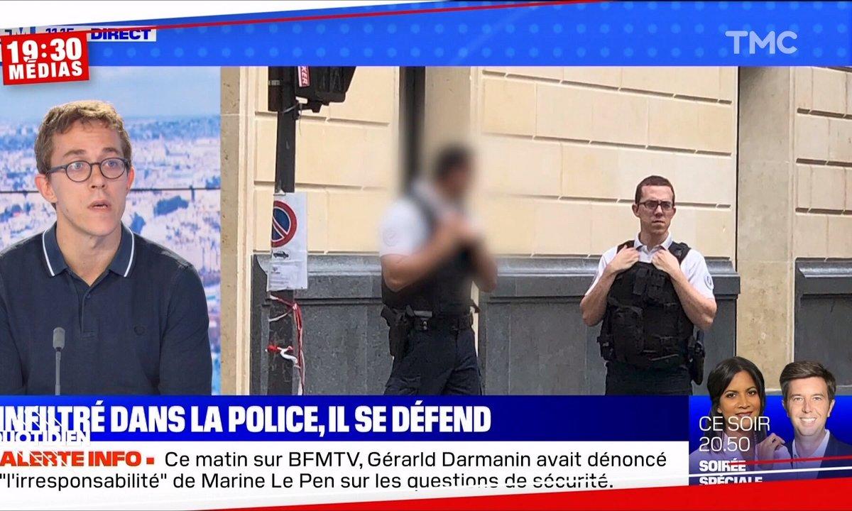 """19h30 Médias – """"Flic"""" de Valentin Gendrot : la fin justifie-t-elle vraiment les moyens ?"""