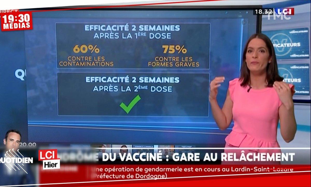 """19h30 Médias : gare au """"syndrome du vacciné"""""""