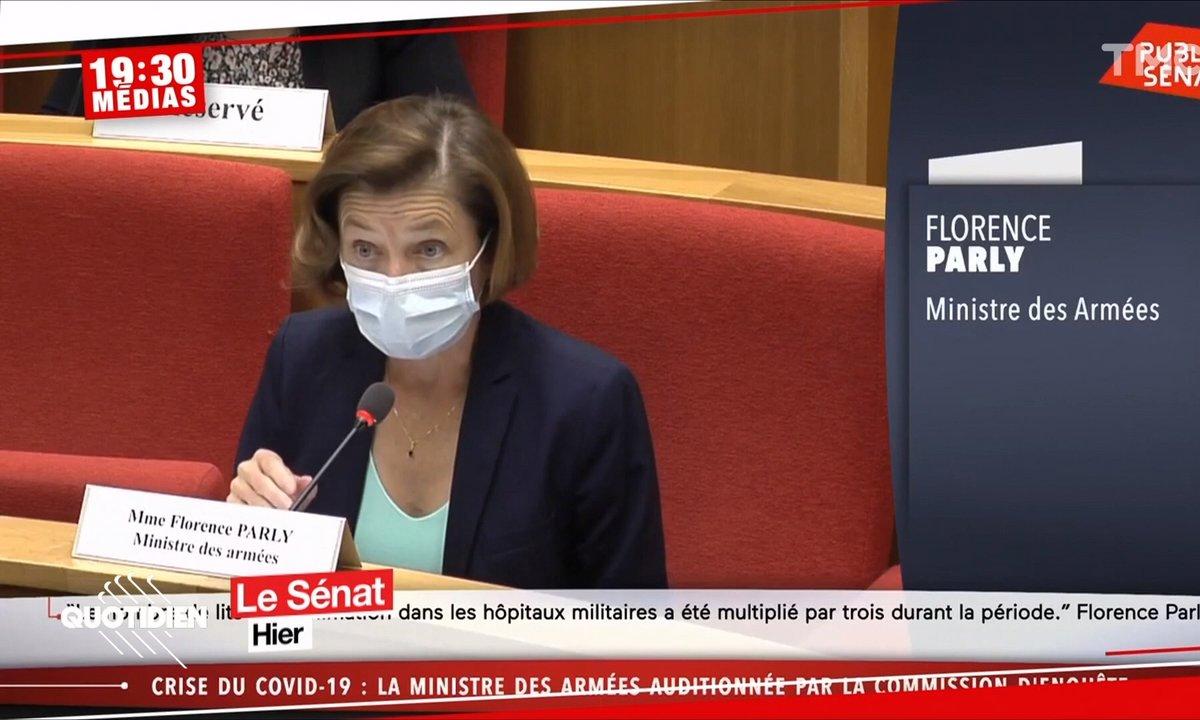 19h30 Médias : la ministre des Armées a-t-elle menti sur la contamination de militaires de retour de Wuhan ?