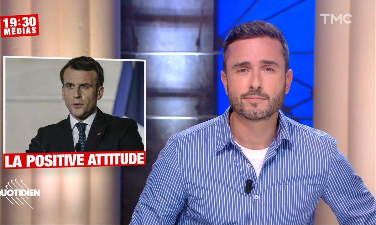 """19h30 Médias : la """"positive attitude"""" d'Emmanuel Macron"""