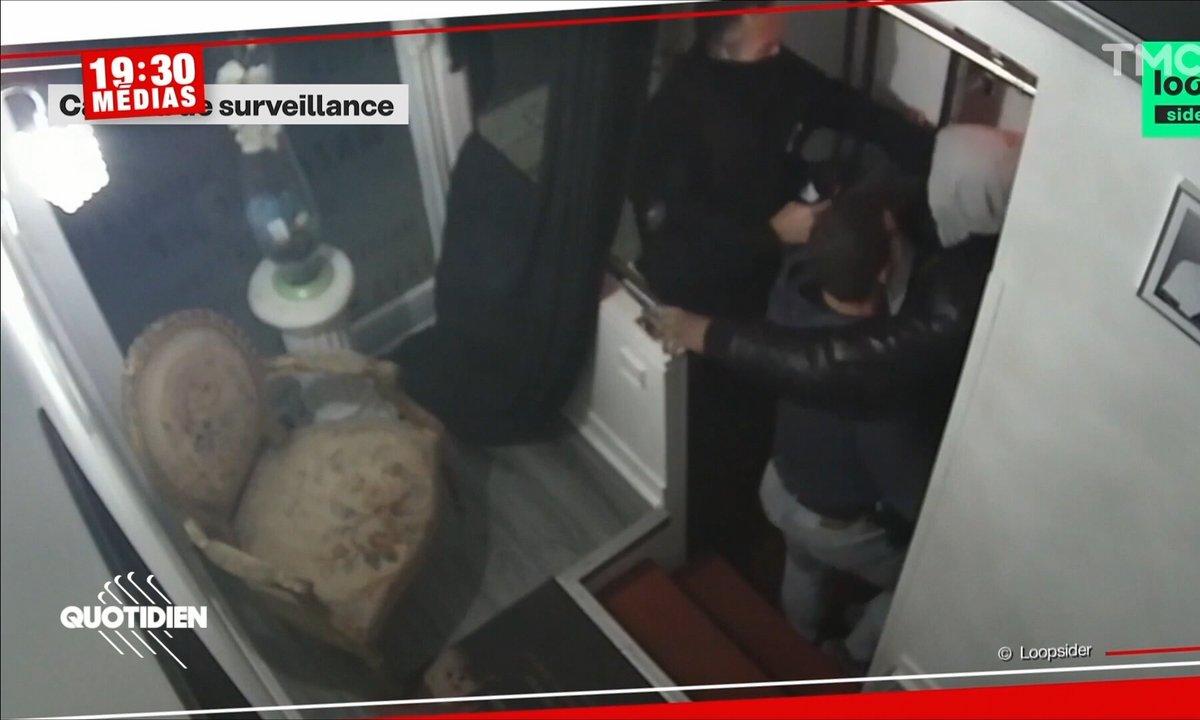 19h30 Médias : les images choc du passage à tabac d'un producteur par la police