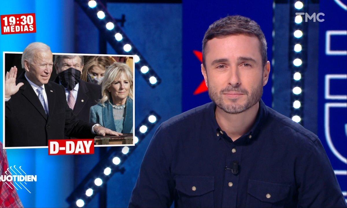 19h30 Médias: le film de l'investiture de Joe Biden minute par minute