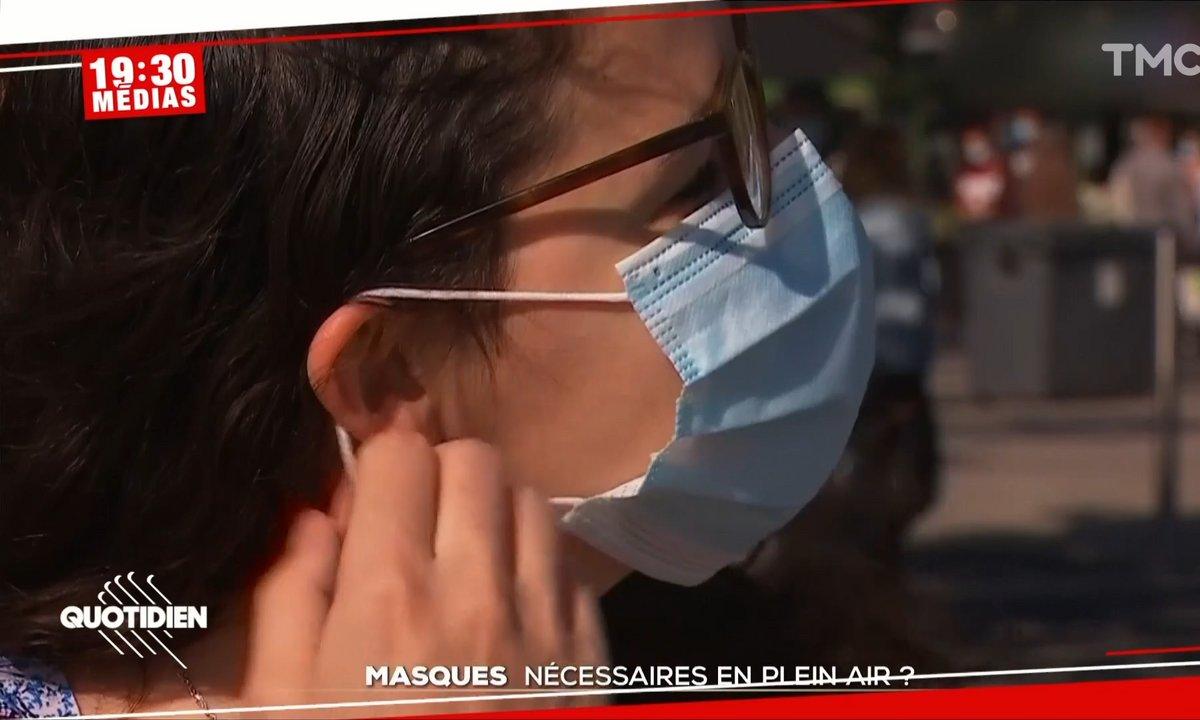 19h30 Médias : le masque en extérieur est-il inutile ?