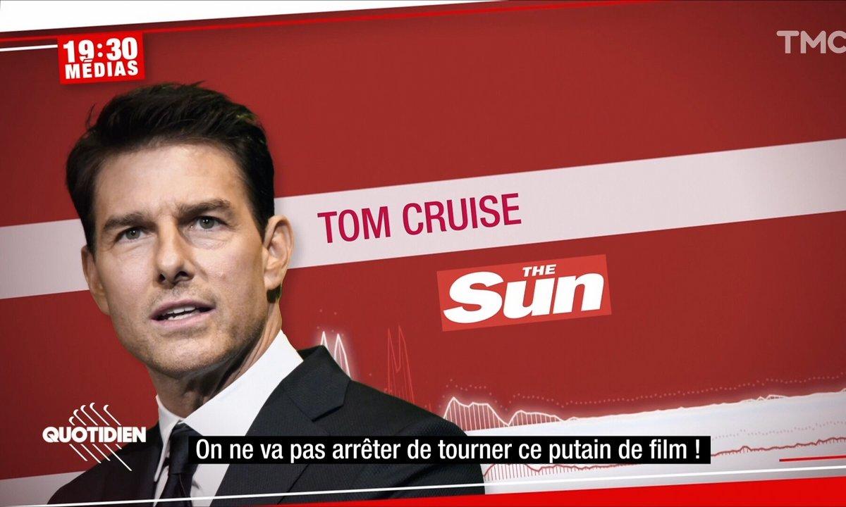 19h30 Médias: l'énorme coup de gueule de Tom Cruise sur le tournage de Mission Impossible 7