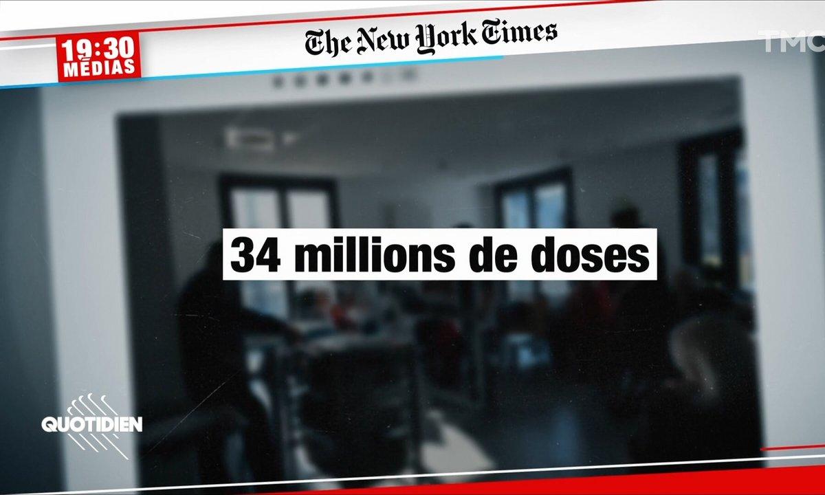 19h30 Médias : l'Europe distribue-t-elle trop de vaccins à l'étranger ?