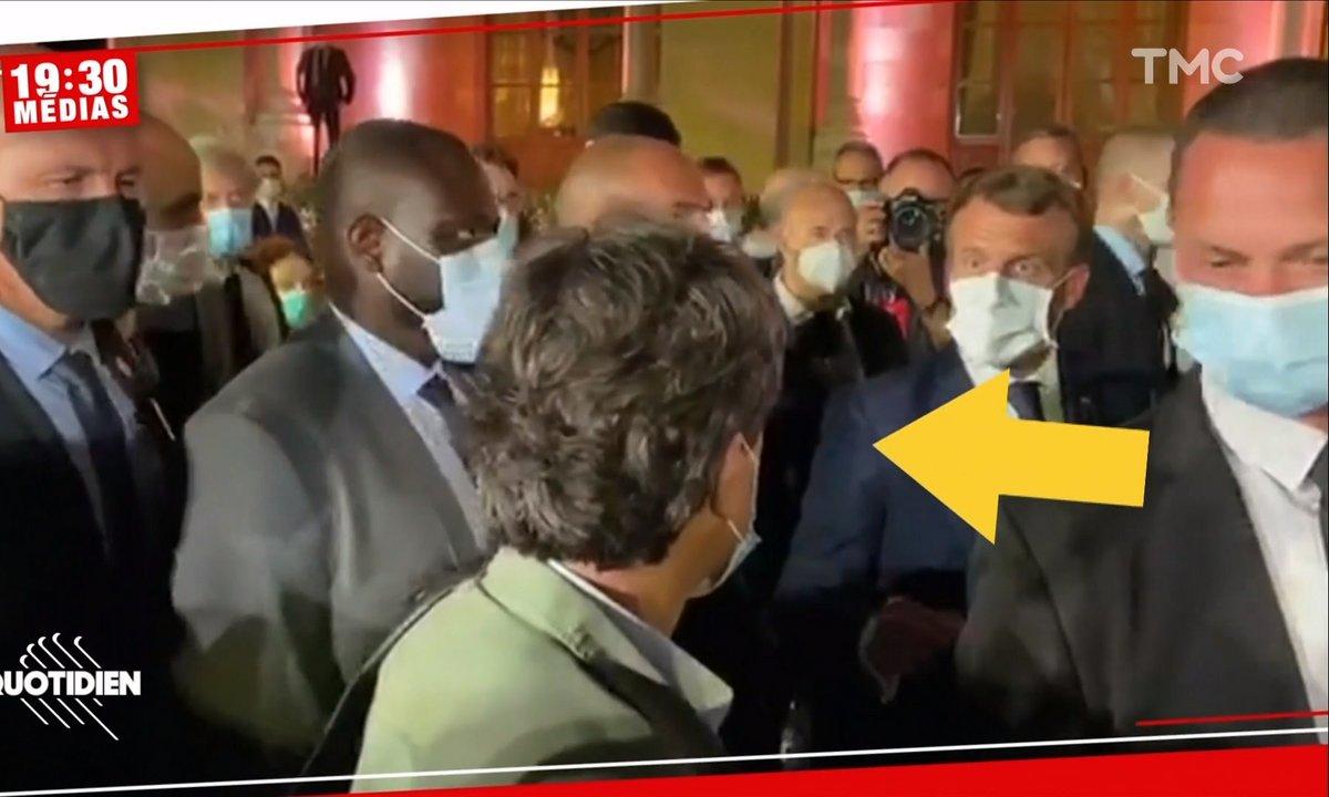 19h30 Médias : pourquoi Emmanuel Macron s'en est-il pris à un journaliste français à Beyrouth ?