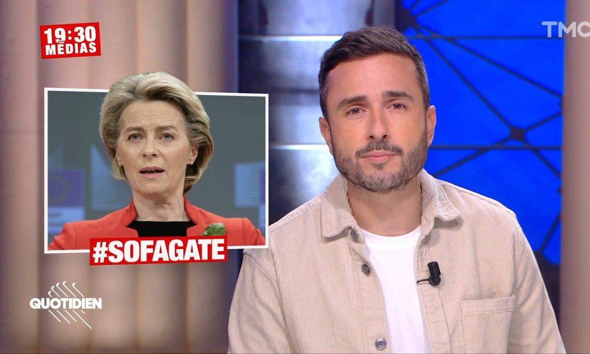 19h30 Médias – Sofagate : Ursula von der Leyen victime de sexisme, quand le protocole à bon dos