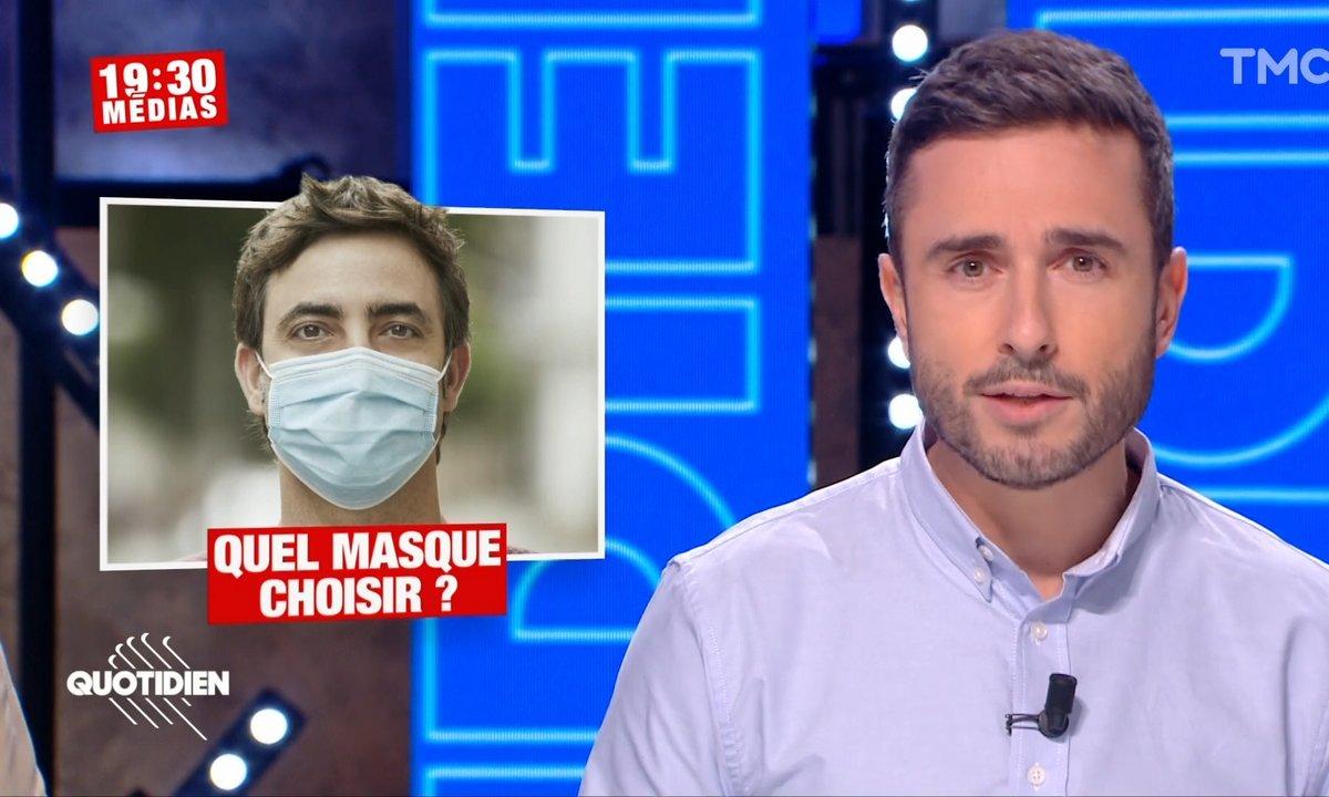 19h30 Médias – Variants: faut-il abandonner les masques en tissu ?