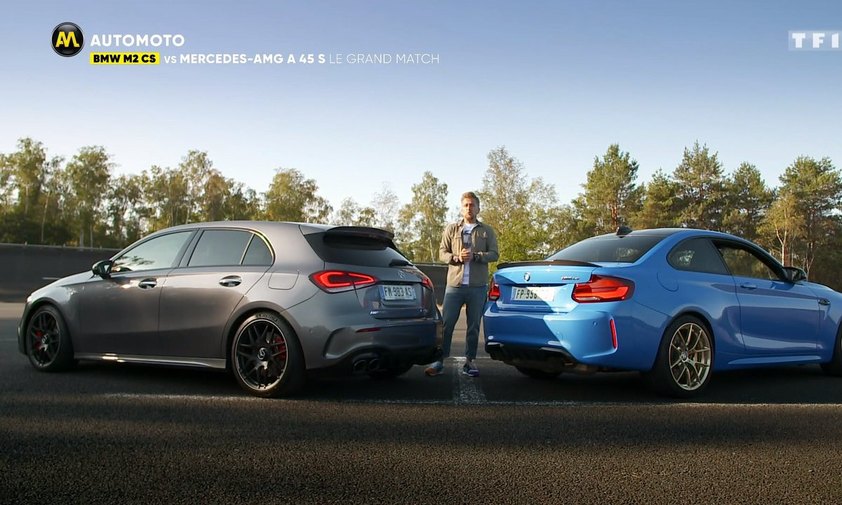 BMW M2 CS vs Mercedes-AMG A 45 S: le grand match