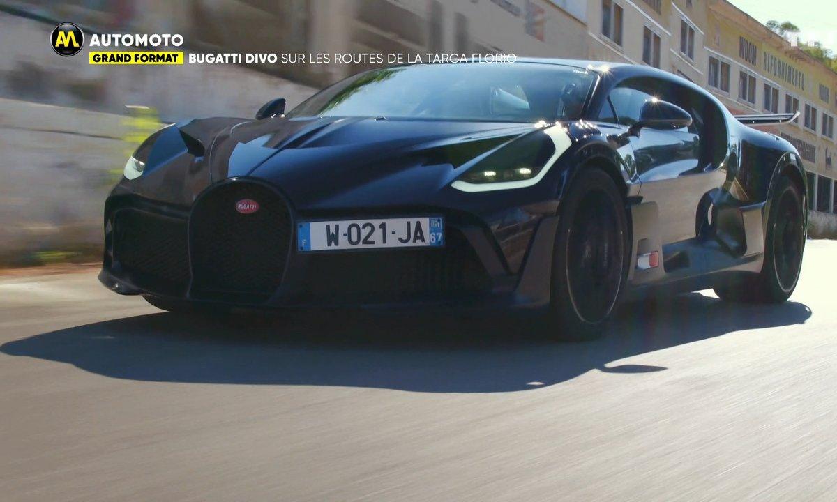 Grand Format - Bugatti Divo, sur les routes de la Targa Florio