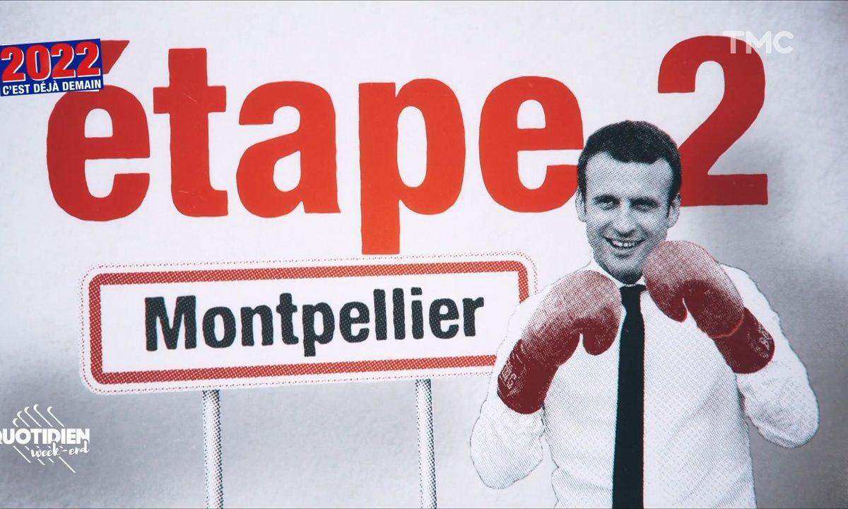2022, c'est déjà demain : Emmanuel Macron joue la carte sécuritaire pour court-circuiter la droite