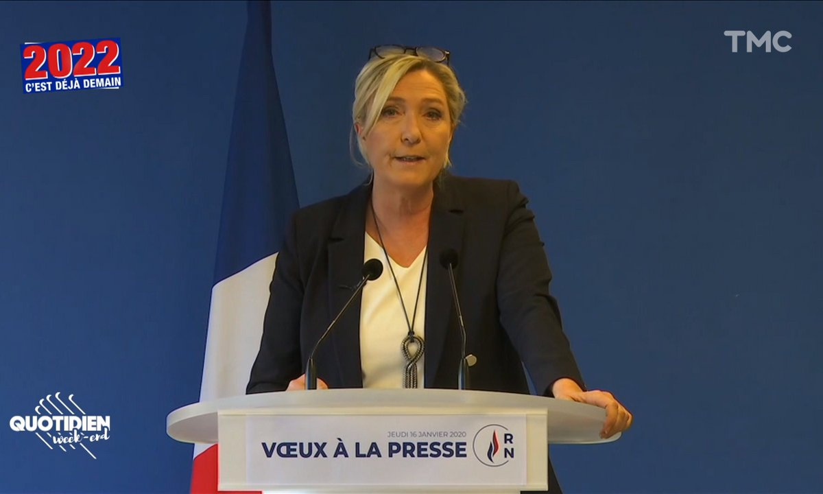 2022, c'est déjà demain : Marine Le Pen lâchée par sa nièce et par ses soutiens, ça se complique à l'extrême-droite