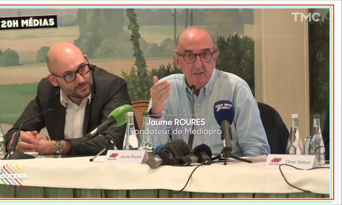 20h Médias : à Paris, Mediapro montre les muscles