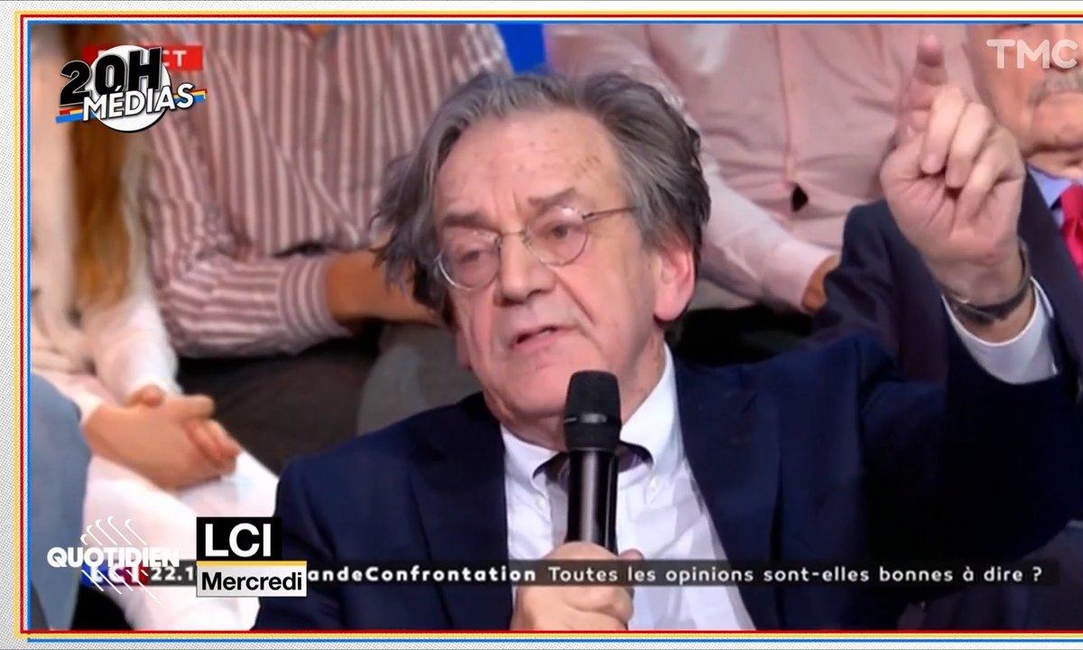 20h Médias: Alain Finkielkraut peut-il être viré de France Culture après ses propos sur LCI ?