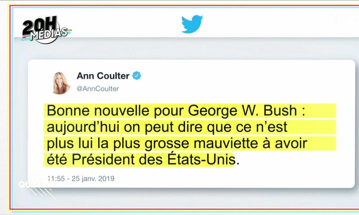 20h Médias: Anne Coulter, la journaliste pro-Trump de Fox News... qui insultait Donald Trump
